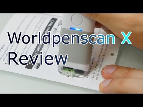 WorldPenScan X - Intelligent Pen Scanner and Translator for Android / IOS / Windows and MAC ! [4K]