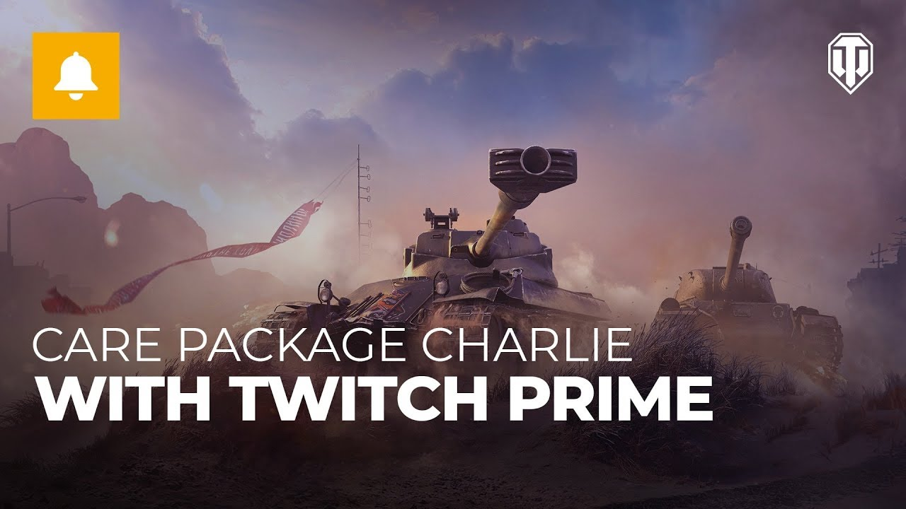 Claim Care Package Charlie with Twitch Prime | General News