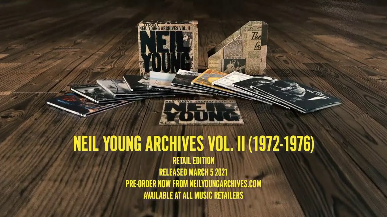 Download Neil Young Archives II - Volume 2 Of The Definitive Chronological Record of Neil's Career.