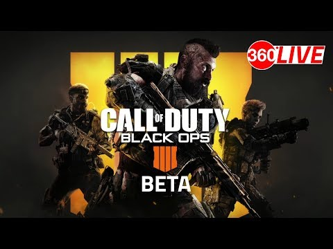 Call of Duty : Black Ops 4 beta PS4 Pro Livestream