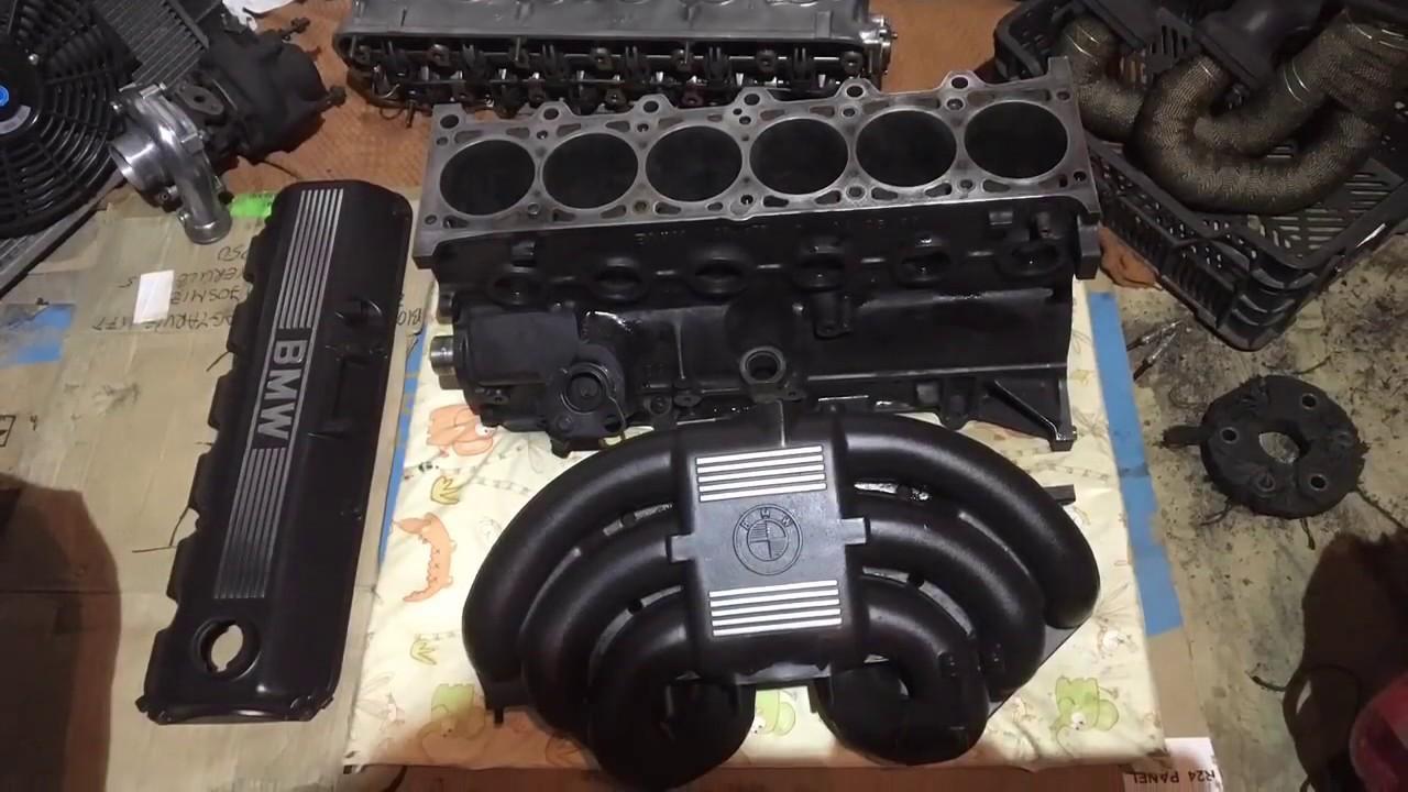 Bmw E30 325 M20b25 Turbo Build Part1 Youtube
