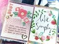 KIT CRASHERS #07 Project Life Process Video ~ Studio Calico Kit Sept + + + INKIE QUILL