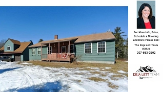 295 Limerick RD, Arundel, ME Presented by The Deja Lett Team.