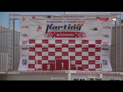 Campeonato de España Karting 2018 Prueba 2 - Zuera Domingo