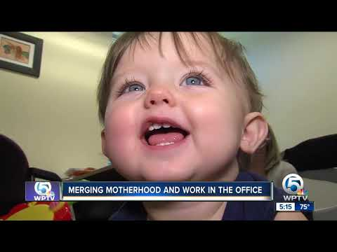 Martin County Moms Return To Work From Maternity Leave With Their Babies