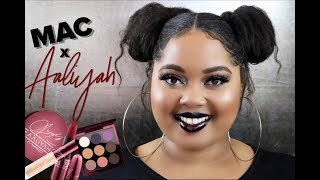 MAC x Aaliyah Collection Review + Swatches + Tutorial