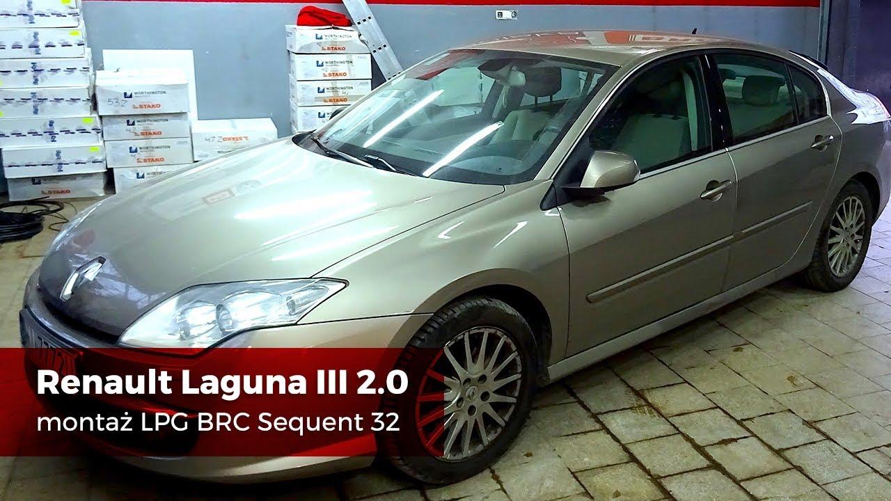 Montaż LPG Renault Laguna III 2.0 BRC SQ 32