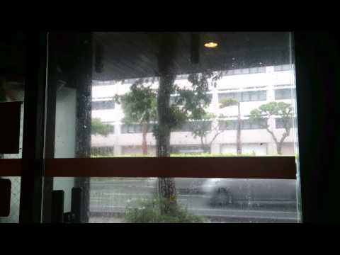 Typhoon Neoguri -- crazy sound