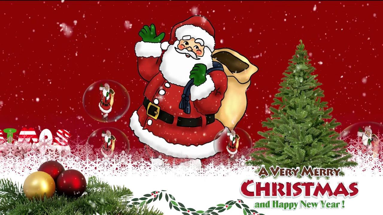Best Merry Christmas Wishes & Happy New Year 2018, Greeting, Whatsapp Video - YouTube
