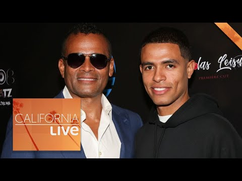 Check Out The Van Peebles Father-Son Duo In The Movie 'A Clear Shot' | California Live | NBCLA