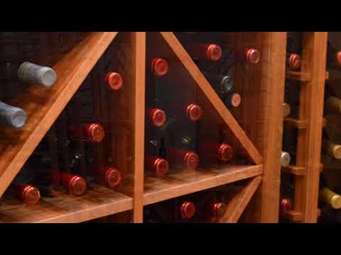 A Beautiful Residential Wine Cellar by Harvest Wine Cellars and Saunas
