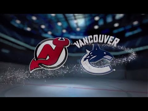 New Jersey Devils vs Vancouver Canucks - November 01, 2017 | Game Highlights | NHL 2017/18. Обзор.