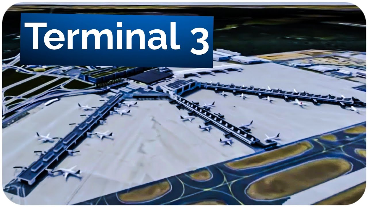 Download Flughafen Frankfurt - TERMINAL 3 / Europas modernstes Terminal? / Plane Explorer Show