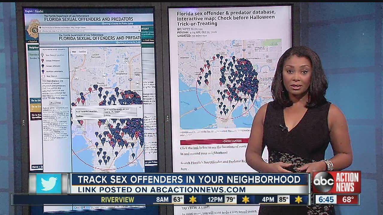 Sex offender in your neighborhood sex