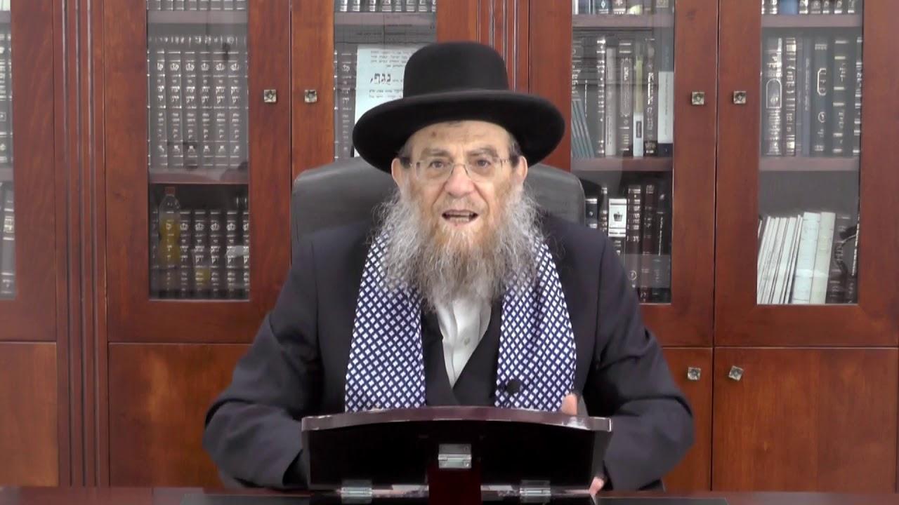 """הגאון הגדול הרב יצחק ברדא שליט""""א - במדבר"""