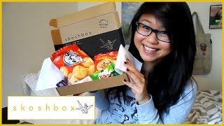 More Japanese Snacks! (with My Bf) | Skoshbox November 2014