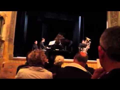 Danilo Tamburo (basso tuba) e Danilo Comitini (pianoforte) - Concerto al Teatro Torti