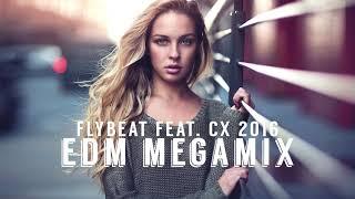 EDM Allstars 2016 🔹 Best Electro & House Megamix 2019 (feat. DJFlyBeat)