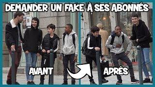 Demander un fake à ses abonnés - Défi Prank - Les inachevés