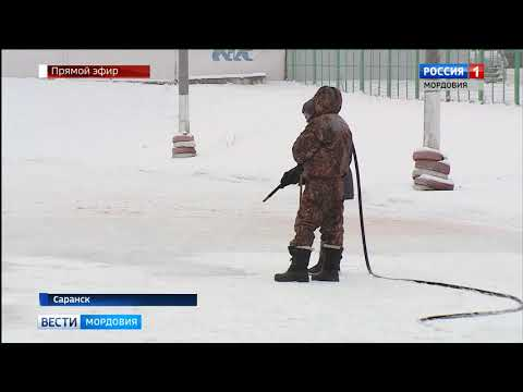 В Саранска в эти дни заработает 23 катка, если погода позволит