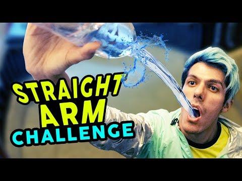 STRAIGHT ARM CHALLENGE | RETO DEL BRAZO DERECHO