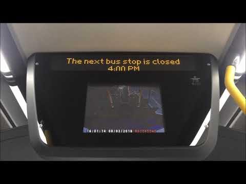 London Bus W4 Blinds + iBus
