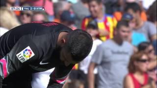 Goal of André Gomes (2-0) Valencia CF - Atlético de Madrid - HD