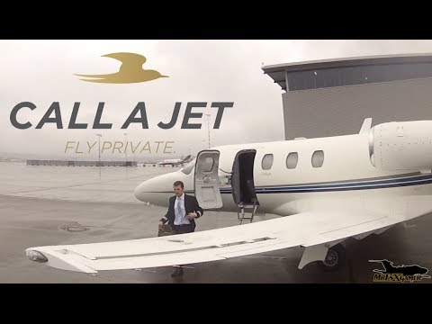 ✈ Cessna Citation 525 CJ1 private Jet Flight ✈