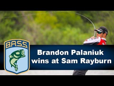 Brandon Palaniuk wins 2018 Bassmaster Classic berth at Sam Rayburn