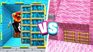 ULTIMATE Minecraft Boy vs Girl SECRET ROOM Challenge!