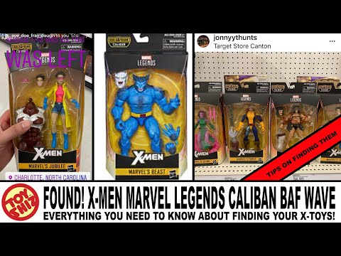 FOUND! Marvel Legends X-Men Caliban BAF Wave, And How You Can Too!