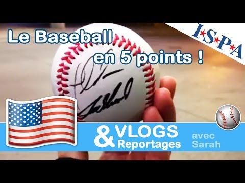 Le Baseball en 5 points - Sarah avec ISPA