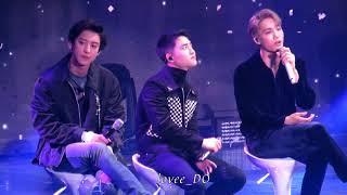 [fancam] 18.12.20 영페스타 EXO-wait (D.O경수 종인 찬열 focus)