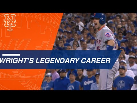 David Wright's legendary Mets career