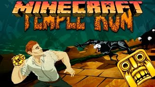 Temple Run в Minecraft: Мини Игры