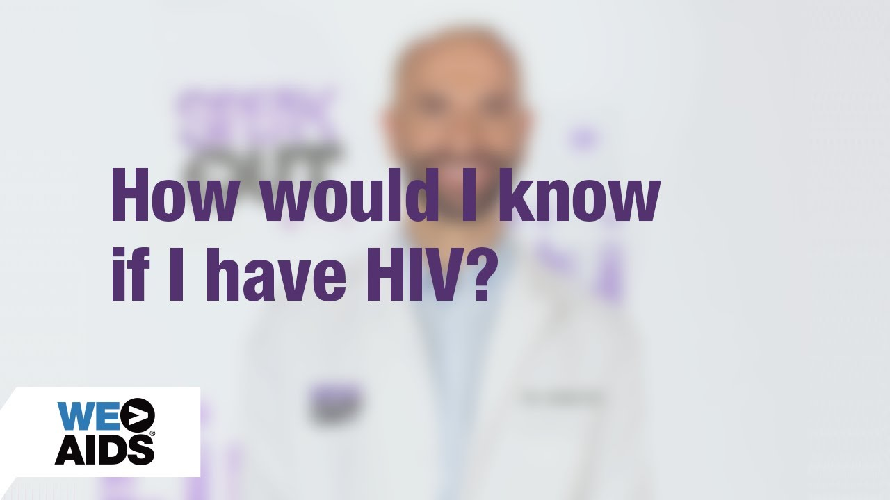 How do i find out if i have hiv
