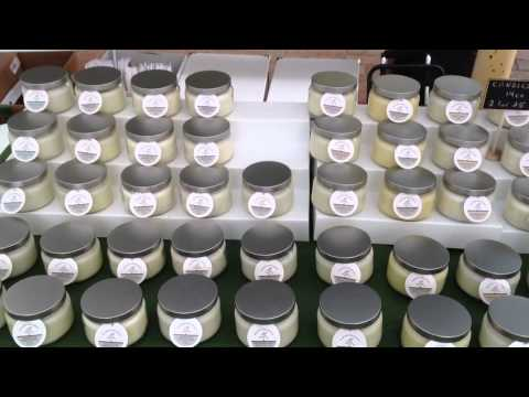 Jbn Candle Creations My Recent Craft Show Youtube