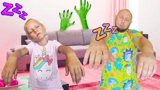 Мистические истории лунатиков для детей про странного гостя под кроватью