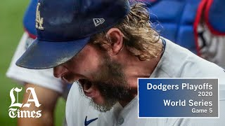 Dodgers beat Rays in Game 5, are one win from first World Series title since 1988