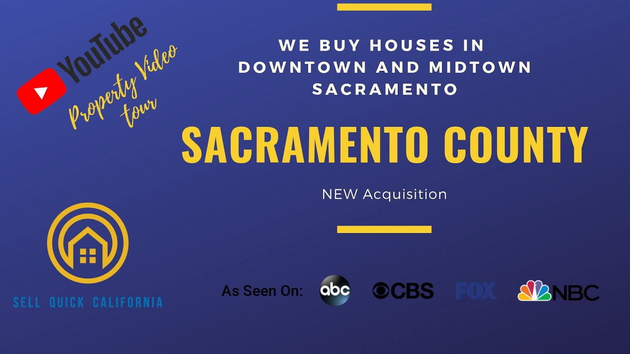 We Buy Houses In Downtown Sacramento California [Real Estate Investor Property Walk Through]