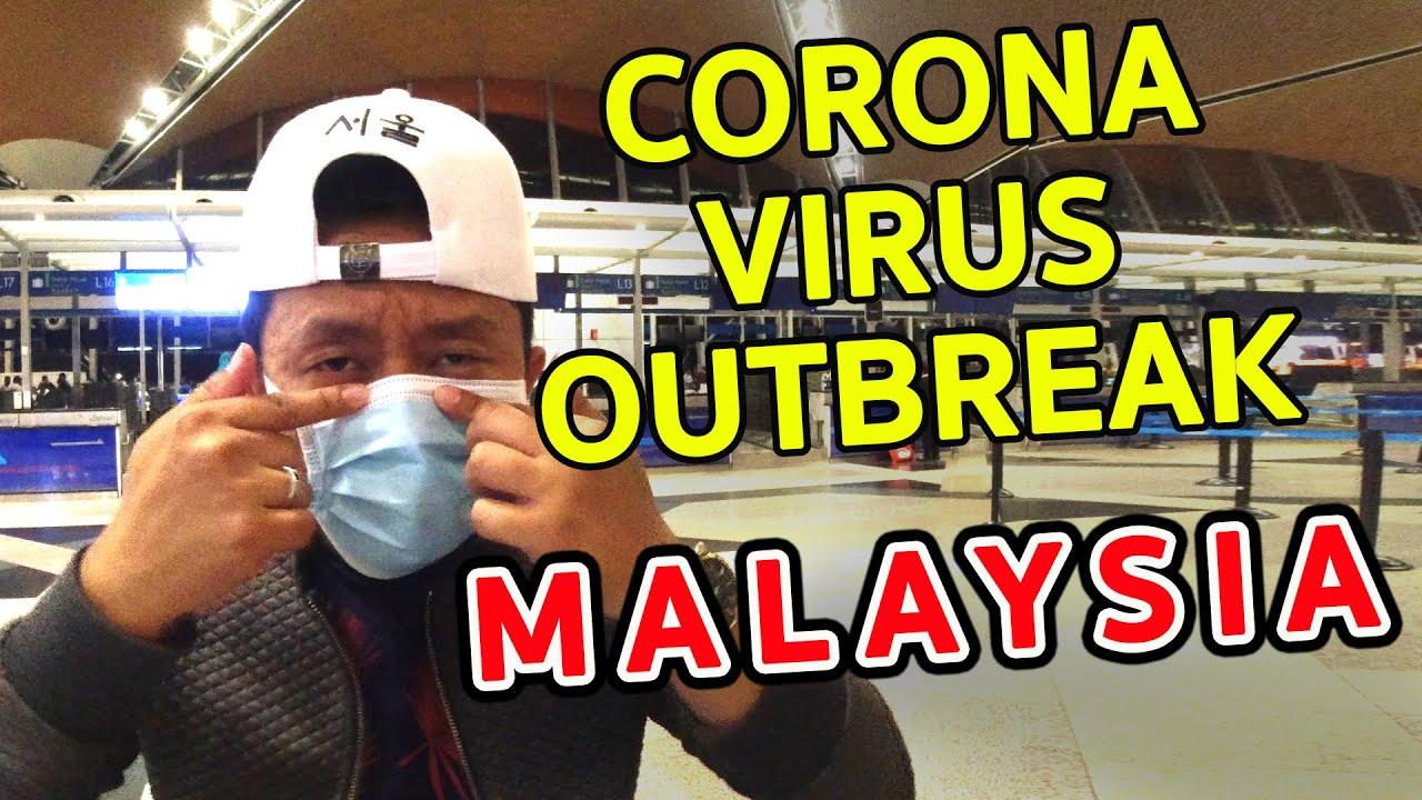 CORONAVIRUS OUTBREAK in MALAYSIA - Kuala Lumpur International Airport Sight