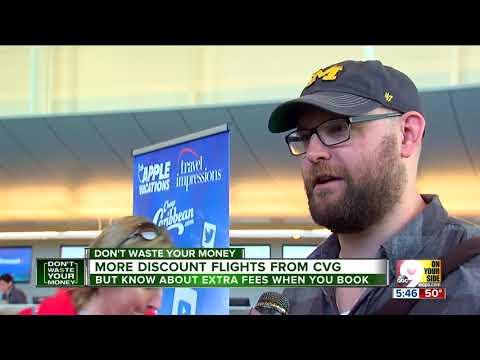 More discount flights from Cincinnati/Northern Kentucky International Airport