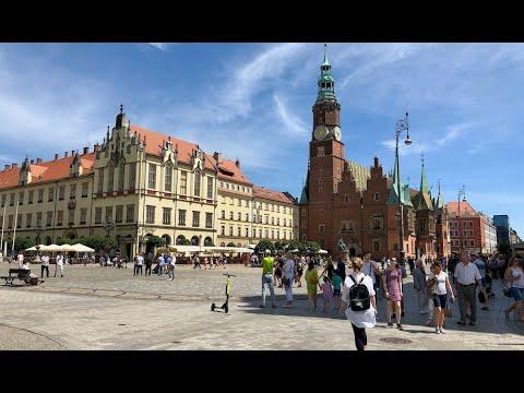 Med Bobil Til Wroclaw I Polen