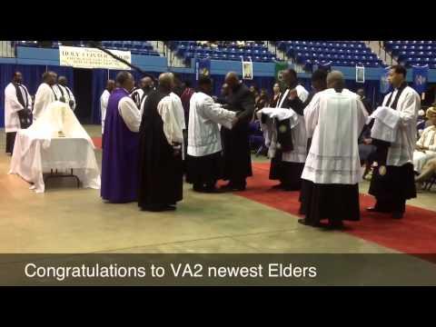 COGIC VA2 Ordination Service