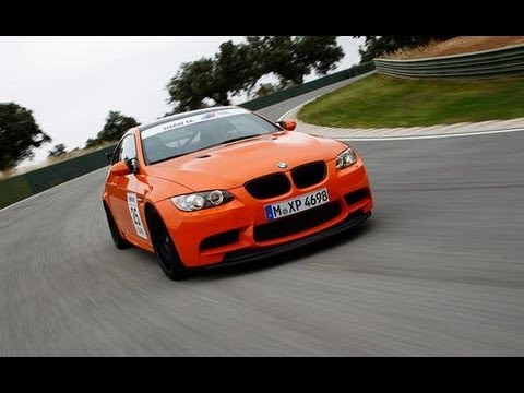 2011 BMW M3 GTS on the Track - CAR and DRIVER - YouTube