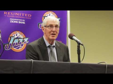 Utah Jazz Reunited Interviews - John Stockton, Jerry Sloan and Gail Miller