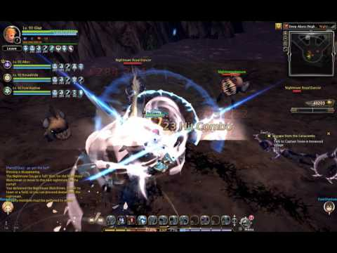 [Dragon Nest NA] Deep Abyss (Nightmare 1 & 2) - Gladiator