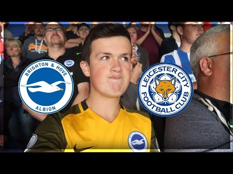 """DISAPPOINTING"" Leicester VS Brighton 