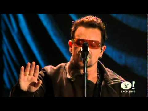 Bono and The Edge - Staring At The Sun A Decade of Difference Concert [HQ]