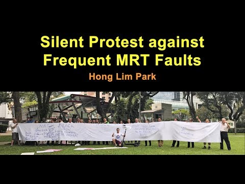 Silent Protest against Frequent MRT Faults